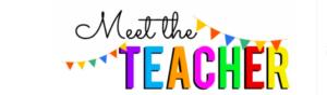 Virtual Meet the Teacher Night 9/16, 6PM (2 Sessions)